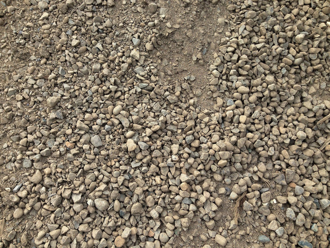 Road Gravel with Fines Aggregate